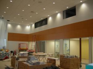 Showroom nears completion