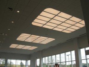 LED Cloud fixtures