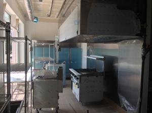 Kitchen Equipment fills the Kitchen