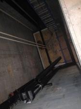 Elevator installation begins