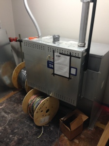 Elevator equipment installed
