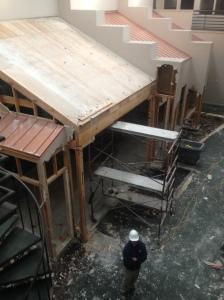 NCRMA:  Week 2 of interior demolition