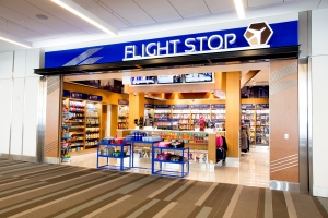 FlightStop North from terminal concourse